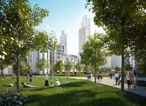 Blackwall Reach regenaration project
