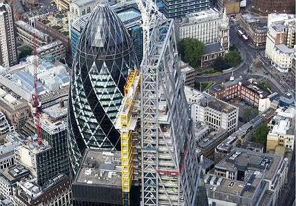 Leadenhall Building in London, UK