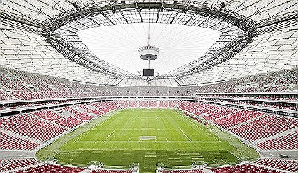 Warsaw's National Stadium (Stadion Narodowy in Polish)