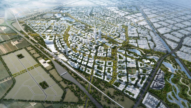 Beijing Bohai Innovation City in China
