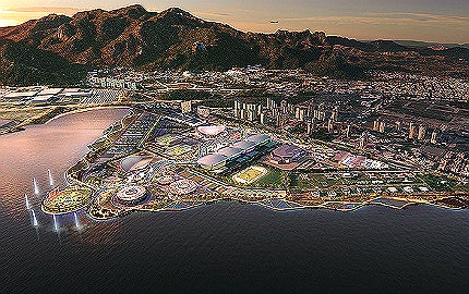 Rio Olympic site.