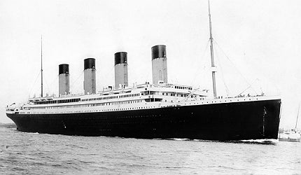 The legendary ship Titanic