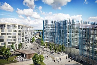 Airport City project in UK