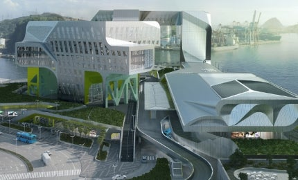 New Keelung Harbour Service Building, Taiwan