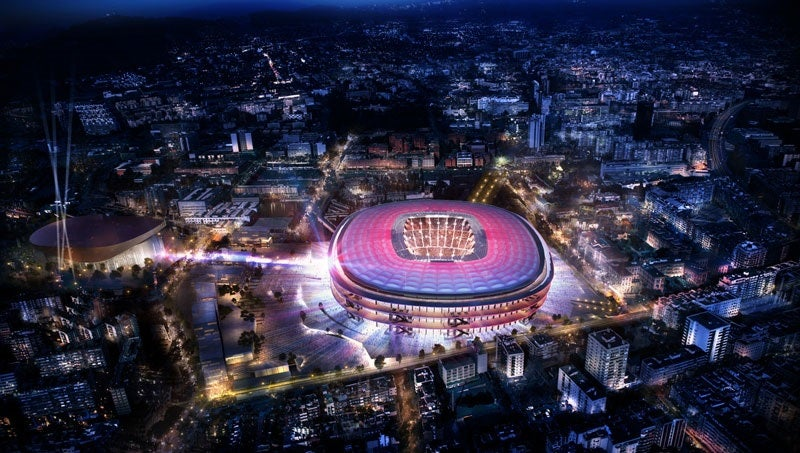 nou camp redevelopment