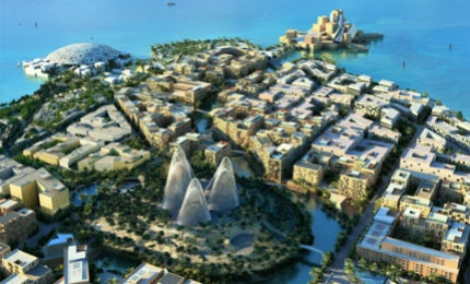 Zayed National Museum will be built in Saadiyat Island's cultural district.
