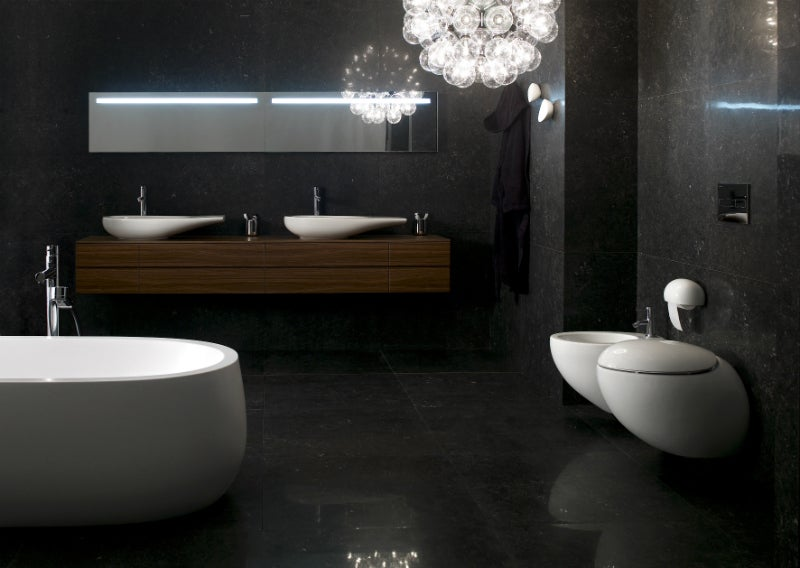 Ceramic products for bathrooms