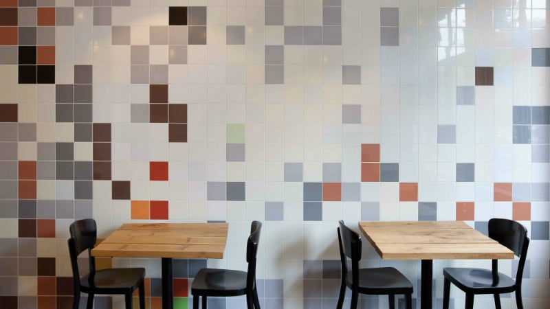 Mosa Tiles global collection matching wall and floor tiles verdict designbuild