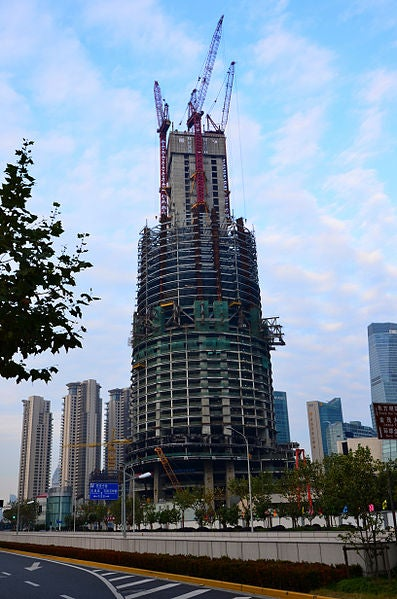 Shanghai Tower in China