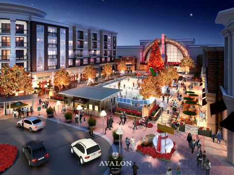 Avalon mixed-use development in US