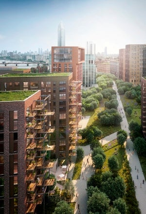 Embassy Gardens project in London