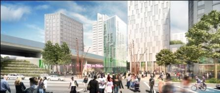 Canning Town Centre scheme in UK