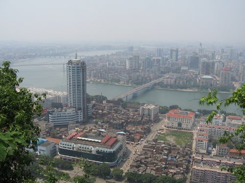 Central Liuzhou in China