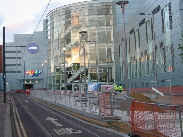 Centrale shopping centre in London