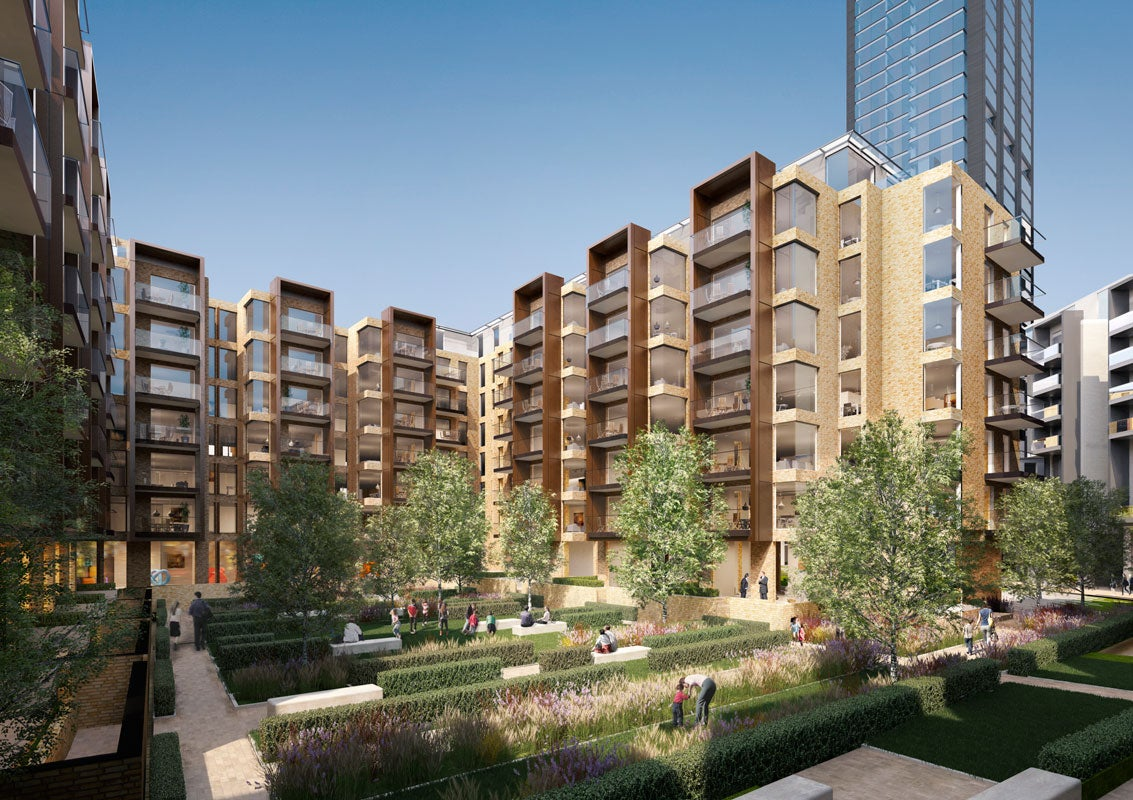 Berkeley Homes Submits Plans For Two Residential Towers In London