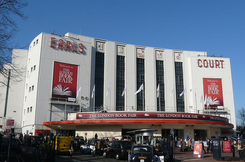 Earls Court Exhibition Centre in UK