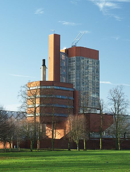 University of Leicester's engineering building