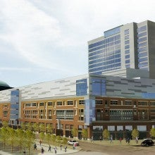 HARBORcenter mixed-use development in US