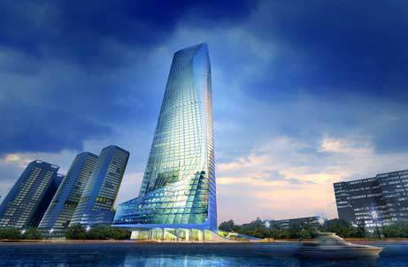Nile Towers project in Egypt