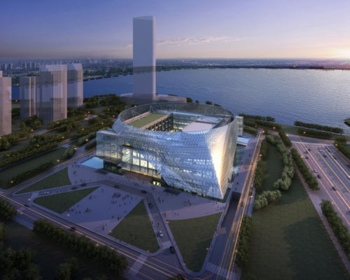 Ningxia International Conference Center in China