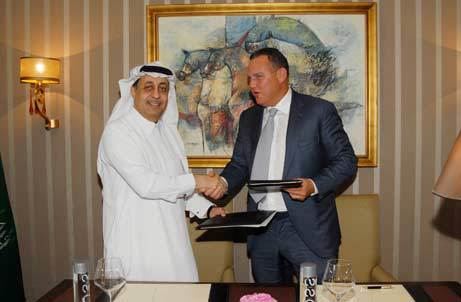 One&Only resort agreement signing