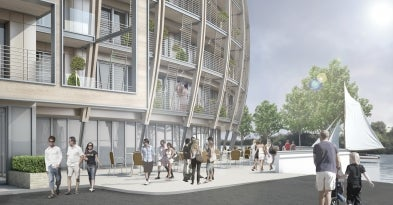 Queens Wharf development in UK