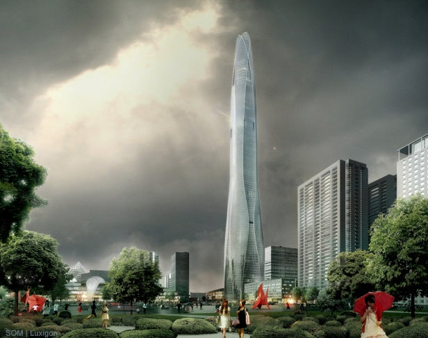 CTF Tianjin Tower in China