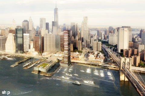 South Street Seaport redevelopment