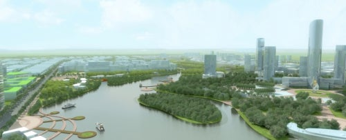 Singapore-Sichuan Hi-Tech Innovation Park in China
