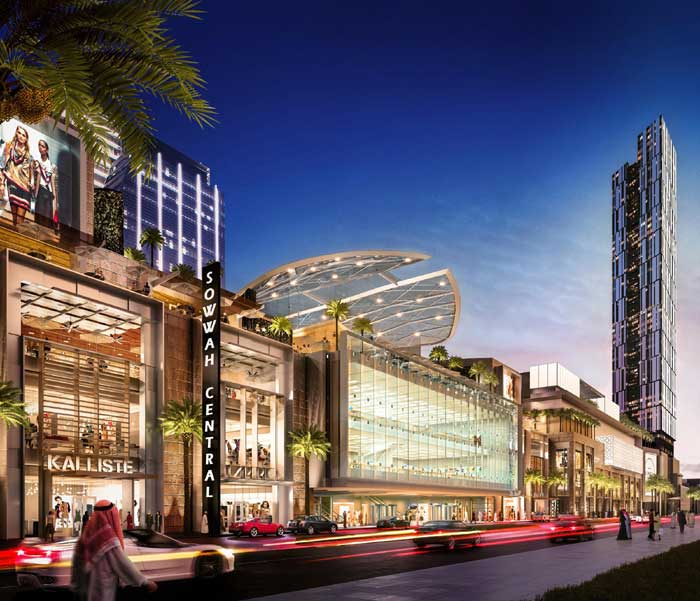 Sowwah Central mixed use development in Abu Dhabi