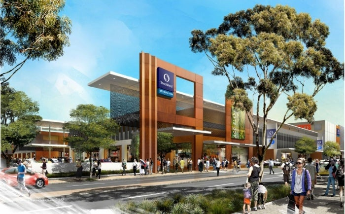 Stockland Wetherill Park shopping centre in Australia
