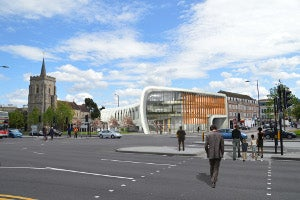 The Curve in Slough regeneration