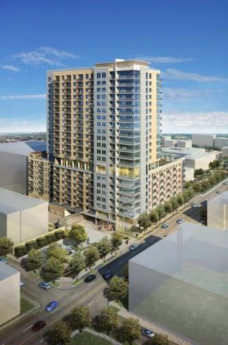 Sovereign apartment tower project in US