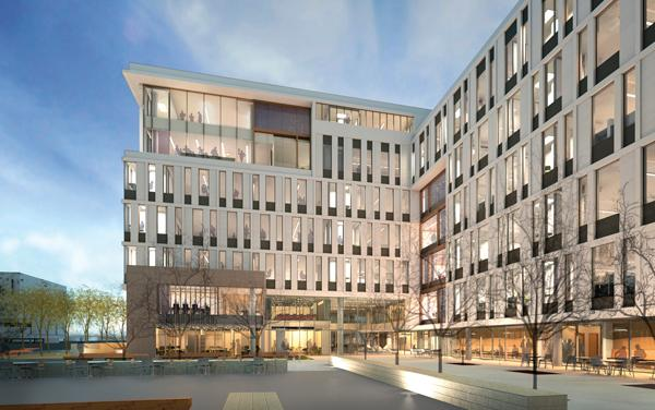 UCSF breaks ground on new building at Mission Bay campus in US