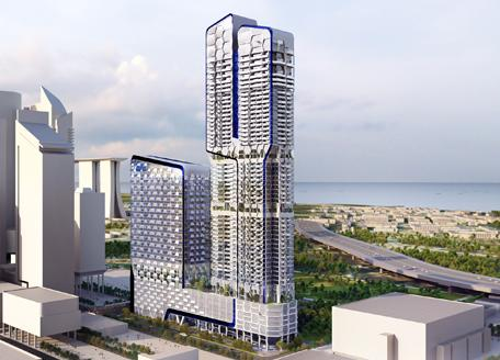 UIC Investments building in Singapore