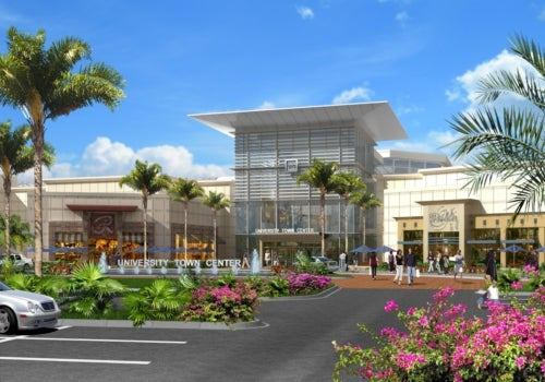 University Town Center mall in US