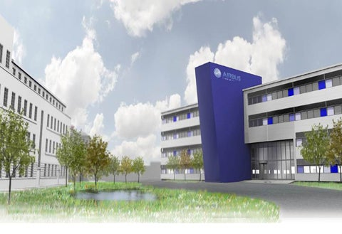 Airbus office projects in UK