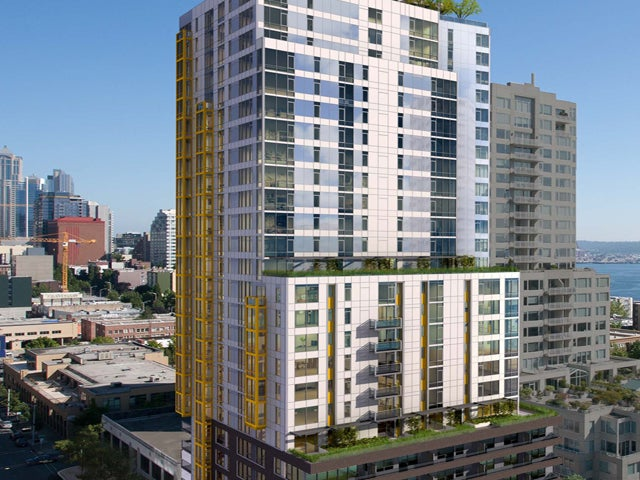 Wood Partners high-rise apartment complex in Seattle