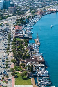 Port of Los Angeles waterfront retail project in US
