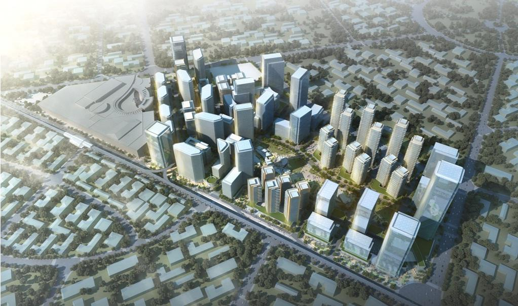 Vertis North business district project in Philippines