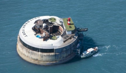 Spitbank Fort Hotel, Hampshire